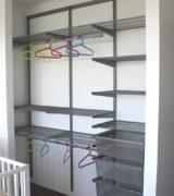 Встроенный шкаф-купе в детской - фотографии наполнения