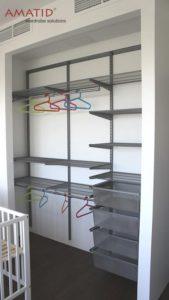 Шкаф-купе в детской - наполнение