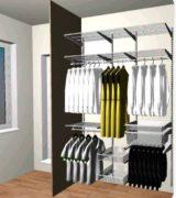 Проект шкафа-купе в спальню