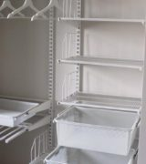 Наполнение маленького шкафа-купе