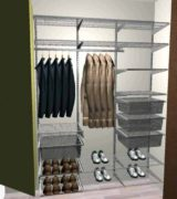 Проект шкафа-купе для прихожей