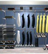 Шкаф-купе в гостиной - проект