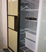 Встроенный шкаф-купе в спальне - фотографии