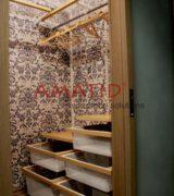 Гардеробная в спальне - фотографии, наполнение