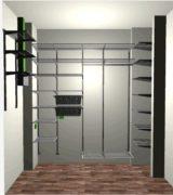 Угловой шкаф-купе, проект и цена