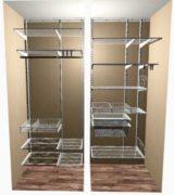 Шкаф-купе в нише коридора - проекты и цены