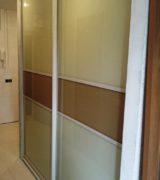 Шкаф-купе в нише коридора - фотографии
